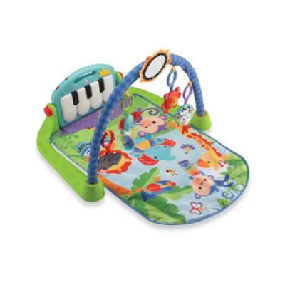 Play Gyms > Fisher-Price® Kick & Play Piano Gym in Blue