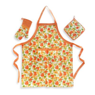 Kitchen Cucina Head Chef Gift Set in Citrus