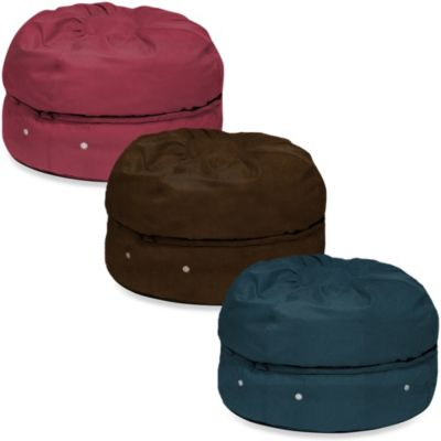 Micro Suede Storage Bean Bag