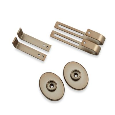 Inside Mount Curtain Hardware