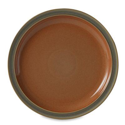Denby Duets Dinner Plate in Sage/Paprika