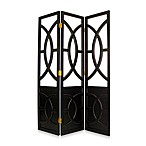 3-Panel Decorative Room Divider/Screen