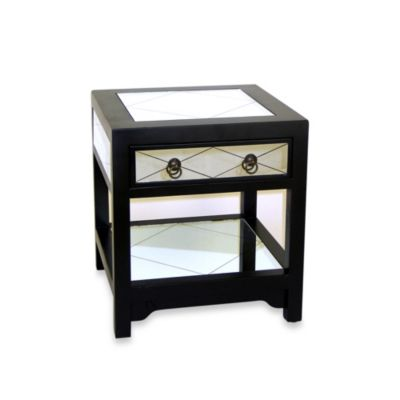 Tanner Mirror Chest End Table