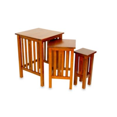 Mission Nesting Tables (Set of 3)