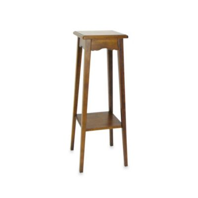Brown Pedestal Stand
