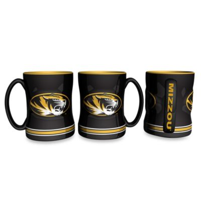 University of Missouri 15-Ounce Sculpted Coffee Mug
