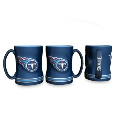NFL Tennessee Titans 15-Ounce Sculpted Coffee Mug