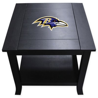 NFL Baltimore Ravens Side Table