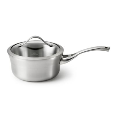 Calphalon® Contemporary Stainless Steel 2.5-Quart Saucepan & Cover
