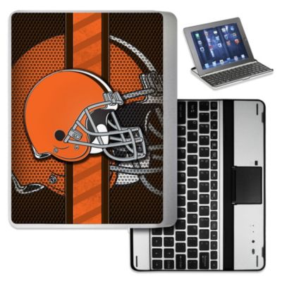 NFL Cleveland Browns Wireless Aluminum Ipad Case