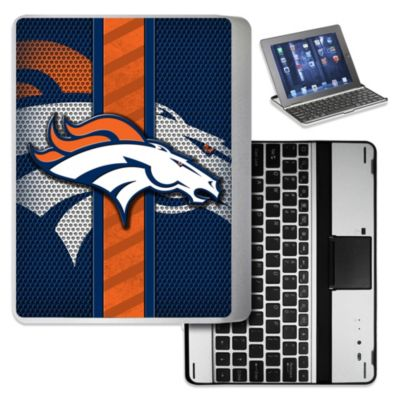 NFL Denver Broncos Wireless Aluminum Ipad Case