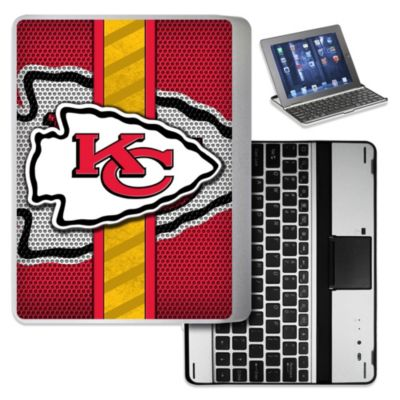 NFL Kansas City Chiefs Wireless Aluminum Ipad Case