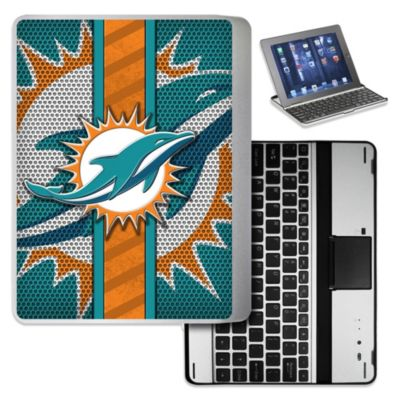 NFL Miami Dolphins Wireless Aluminum Ipad Case
