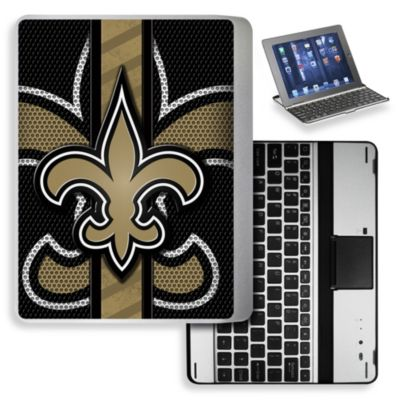NFL New Orleans Saints Wireless Aluminum Ipad Case