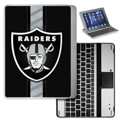 NFL Oakland Raiders Wireless Aluminum Ipad Case