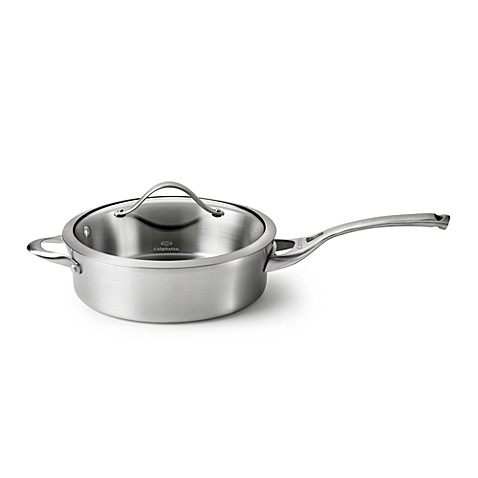 Calphalon® Contemporary Stainless Steel 3-Quart Sauté Pan & Cover
