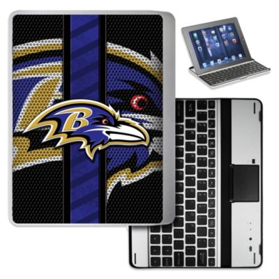 NFL Baltimore Ravens Wireless Aluminum Ipad Case
