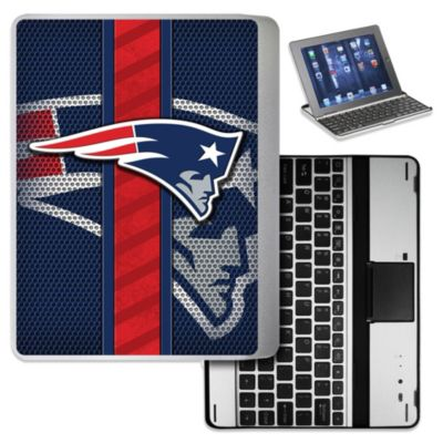 NFL New England Patriots Wireless Aluminum Ipad Case