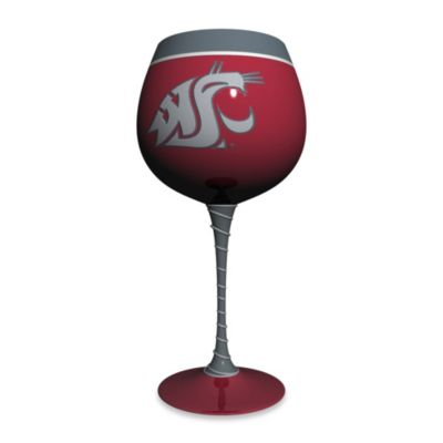 NCAA Washington State 33-Ounce Artisan Wine Glass