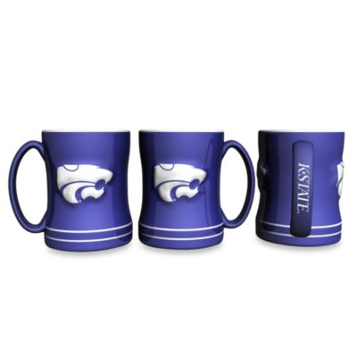 NCAA Kansas State University 15-Ounce Relief Mug