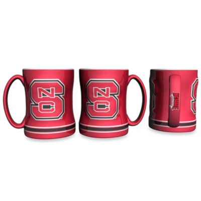 NCAA North Carolina State University 15-Ounce Relief Mug