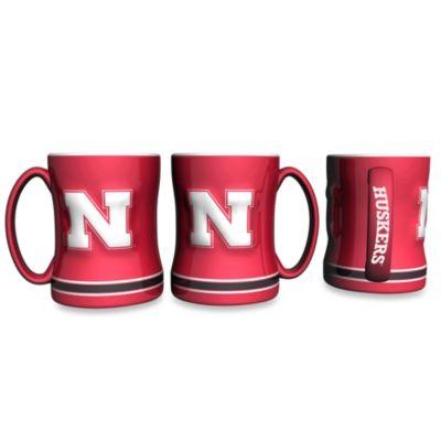 University of Nebraska Relief Mug