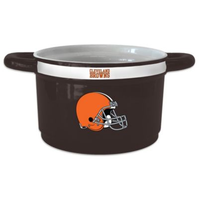 NFL Cleveland Browns Sculpted Game Time Bowl