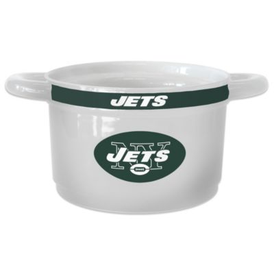 NFL New York Jets Sculpted Game Time Bowl