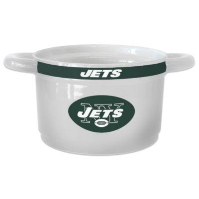 NFL New York Jets Sculpted Ceramic Gametime Bowl