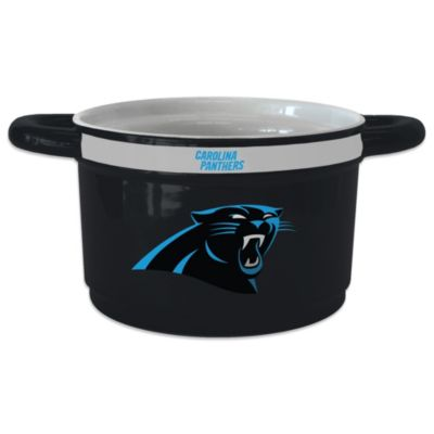 NFL Carolina Panthers Sculpted Ceramic Gametime Bowl