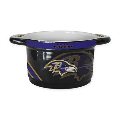 NFL Baltimore Ravens Sculpted Ceramic Gametime Bowl
