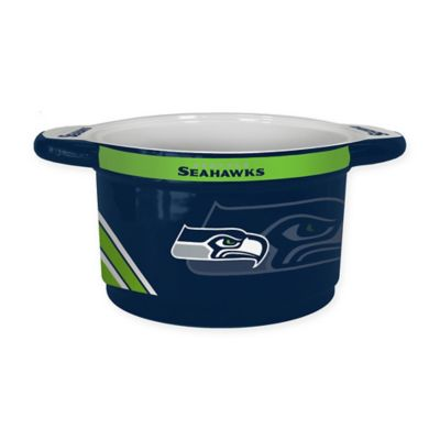NFL Seattle Seahawks Sculpted Ceramic Gametime Bowl