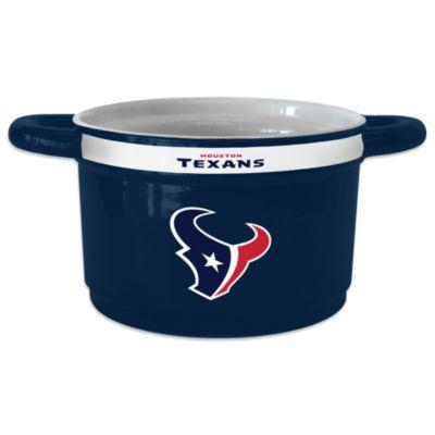 Houston Texans Sculpted Ceramic Gametime Bowl