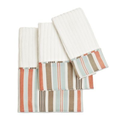 Aruba Bath Towel in Coral