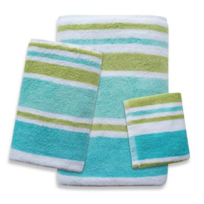 Park B. Smith Cabana Stripe Fingertip Towel