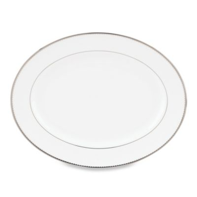 kate spade new york Sugar Pointe 13-Inch Oval Platter
