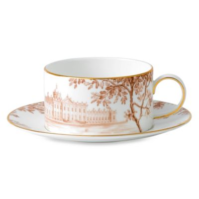 Wedgwood® Palladian Countryside Teacup and Saucer Set