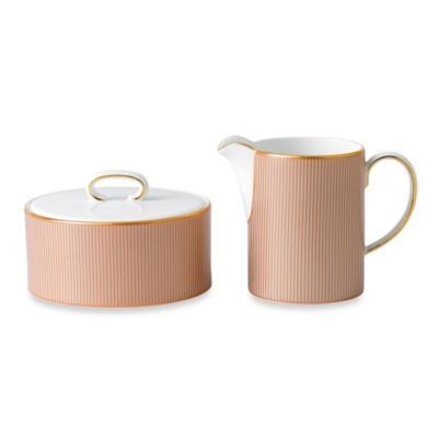 Wedgwood® Palladian Sugar and Creamer Set