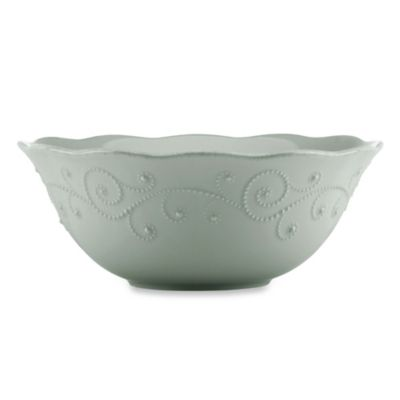 French Perle Serving Bowl in Grey