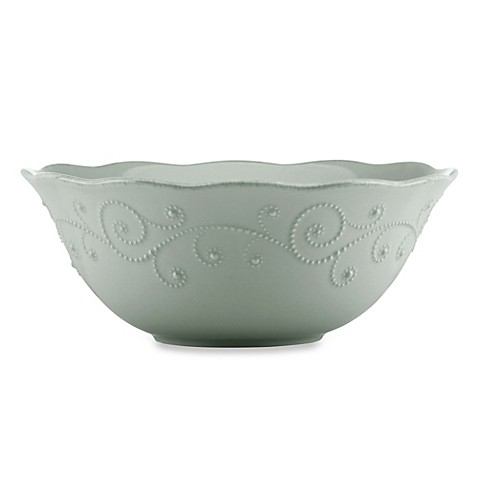 Lenox® French Perle™ Serving Bowl in Grey