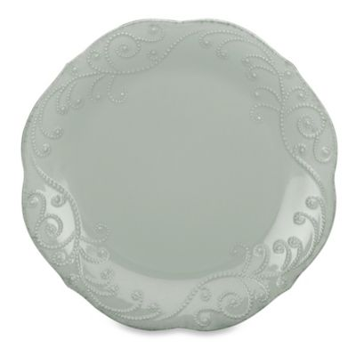 Lenox® French Perle Dinner Plate in Grey