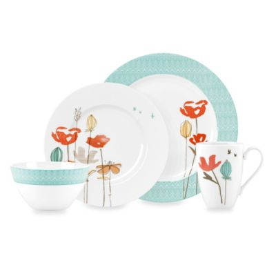 Poppy Casual Dinnerware