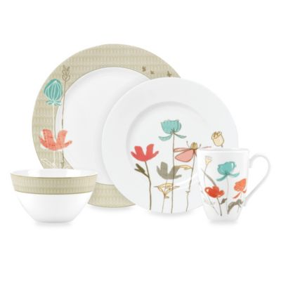 Lenox® Poppy Street Linen 4-Piece Place Setting