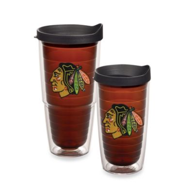 Chicago Blackhawks 16-Ounce Tumbler with Lid
