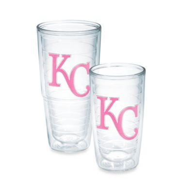 Tervis® MLB Kansas City Royals Emblem 10-Ounce Tumbler in Neon Pink
