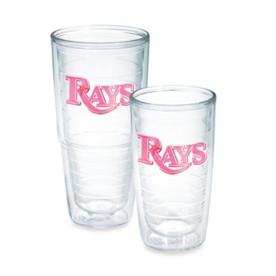 Tervis® MLB Tampa Bay Rays Emblem 10-Ounce Tumbler in Neon Pink