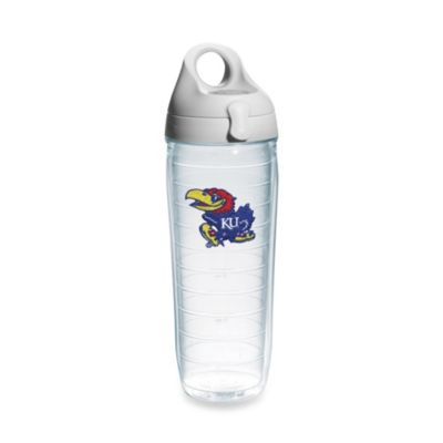 Tervis® University of Kansas Jayhawks 24-Ounce Emblem Water Bottle with Lid