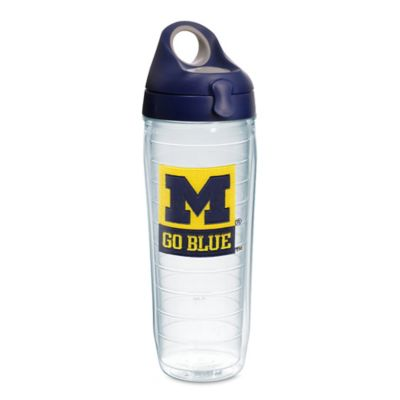 Tervis® University of Michigan Go Blue! 24-Ounce Emblem Water Bottle with Lid