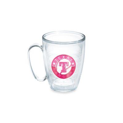Tervis® Neon Pink MLB Texas Rangers Emblem 15 oz. Mug
