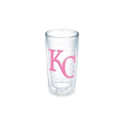 Tervis® MLB Kansas City Royals Emblem 10-Ounce Tumbler in Neon Pink